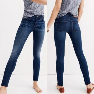 MADEWELL Jeans The Roadtripper Dark Wash High Rise